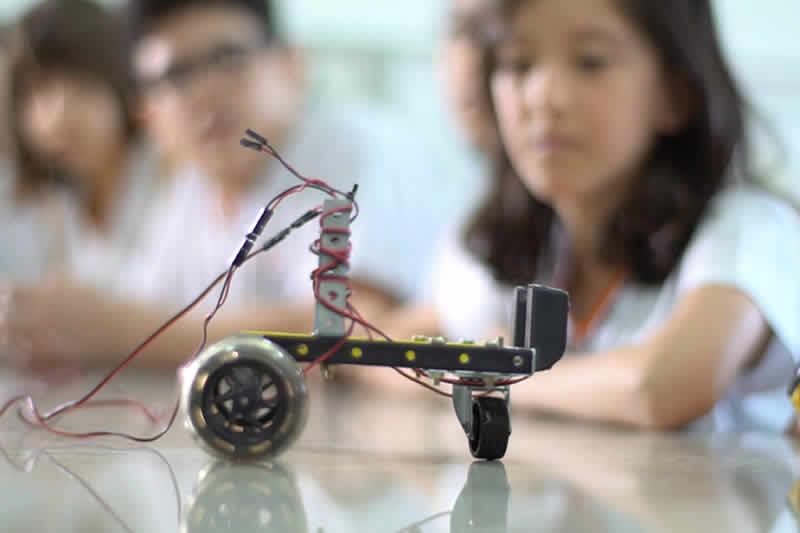 robótica colégio cata-vento